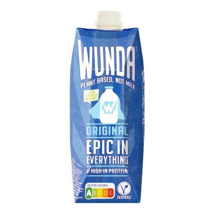 WUNDA Plant based Not milk Original 500 ml (0.5L)
