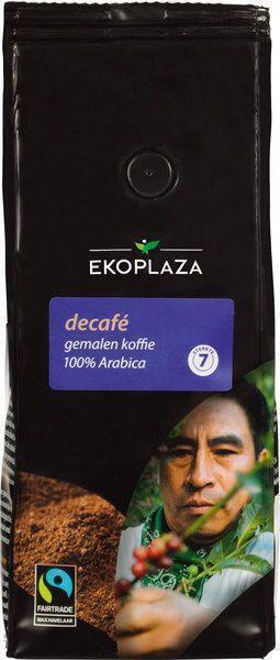 Décafe gemalen koffie (zak, 250g)