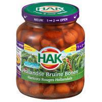 HAK , Hollandse Bruine bonen (pot, 360g)