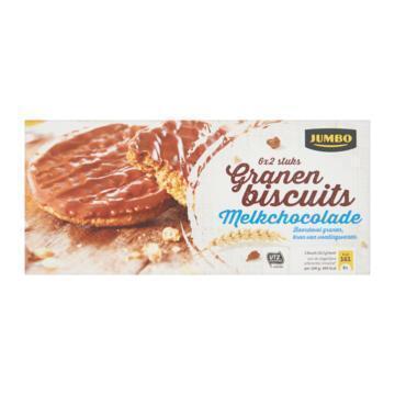 Granenbiscuits Melkchocolade (Doos, 195g)