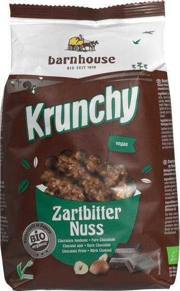 Krunchy pure chocolade-hazelnoten (375g)