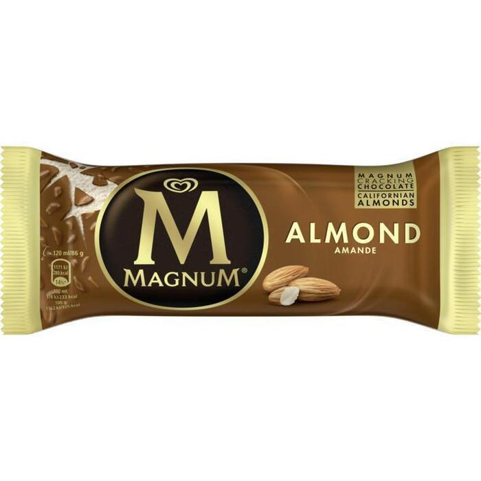 Magnum Almond (stuk, 120ml)