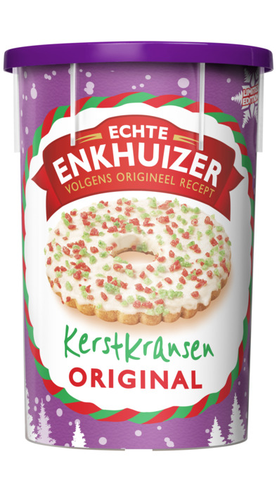Echte Enkhuizer Enkhuizer jodekoek choco (15 × 22.7g)