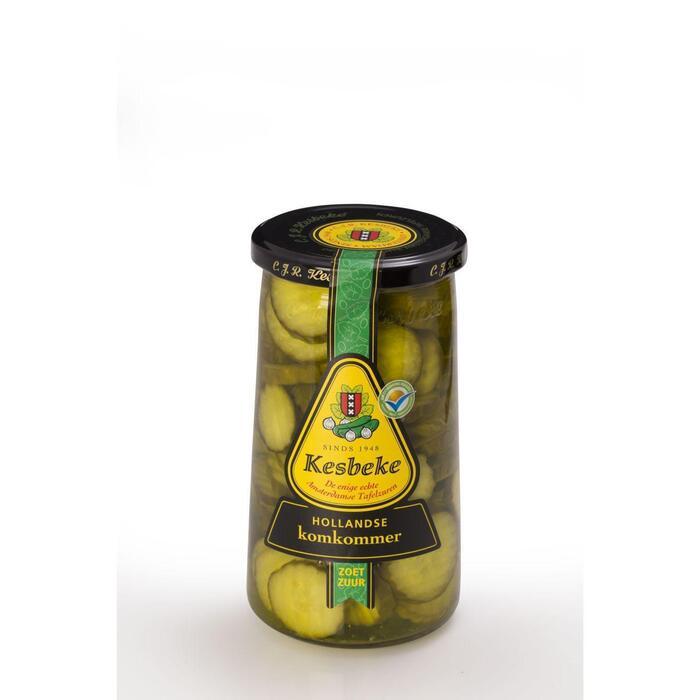Hollandse komkommer zoet zuur (Pot, 0.72L)