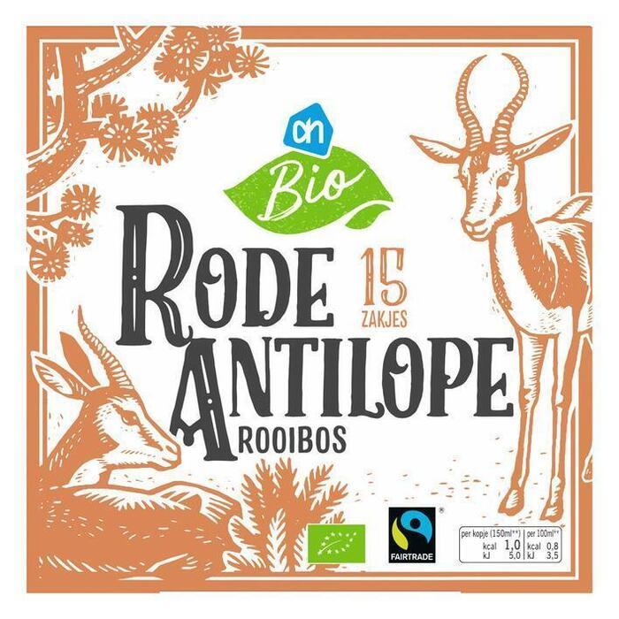 AH Biologisch Rode antilope (doos, 15 × 1.53g)