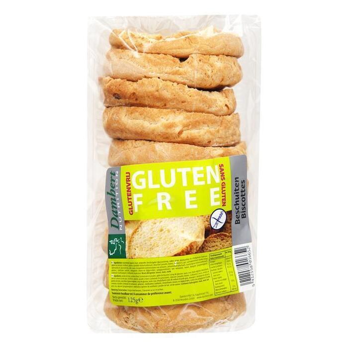 Glutenvrije beschuit (125g)