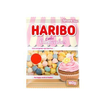 Haribo Little Cupcakes Share Size 160 g (160g)