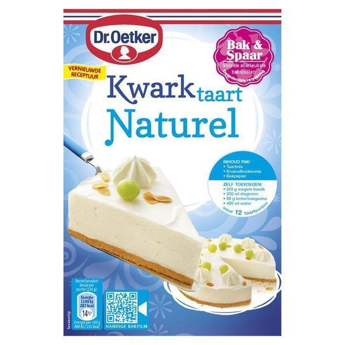Kwarktaart naturel (408g)