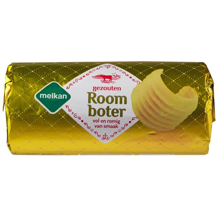 Melkan Roomboter Gezouten 500 g (500g)