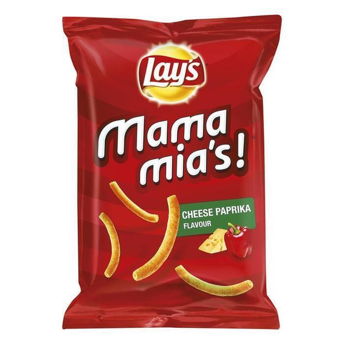 Mama Mia's Paprika/Kaas chips (125g)