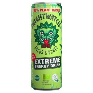 Nightwatch Organic energy drink 250 ml printed can slim (250ml)