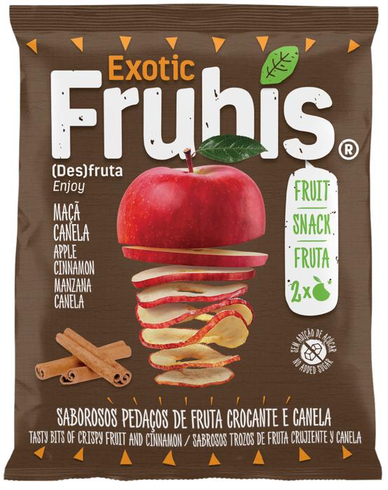 Frubis Exotic Gedroogde Appel met Kaneel 20 g (20g)