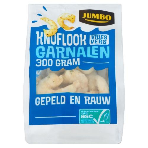 Jumbo Knoflook Garnalen 300g (300g)