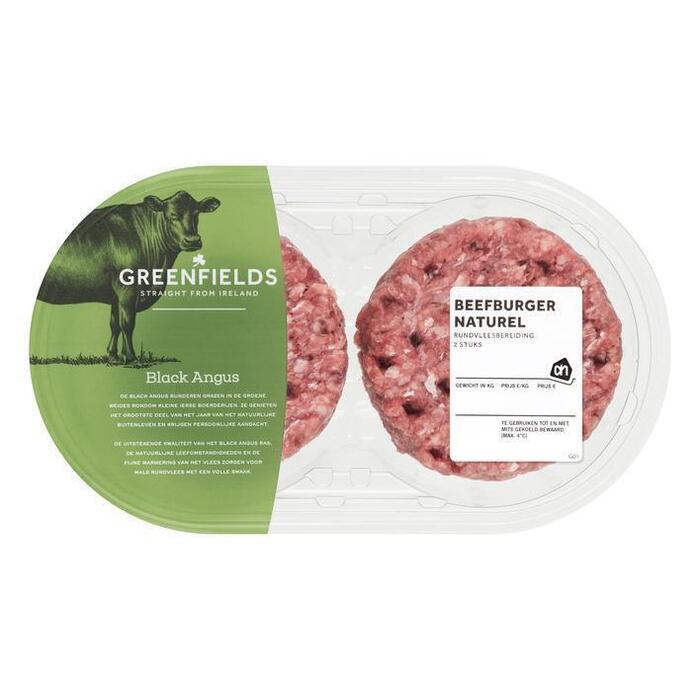 Greenfields beefburger (2 × 270g)
