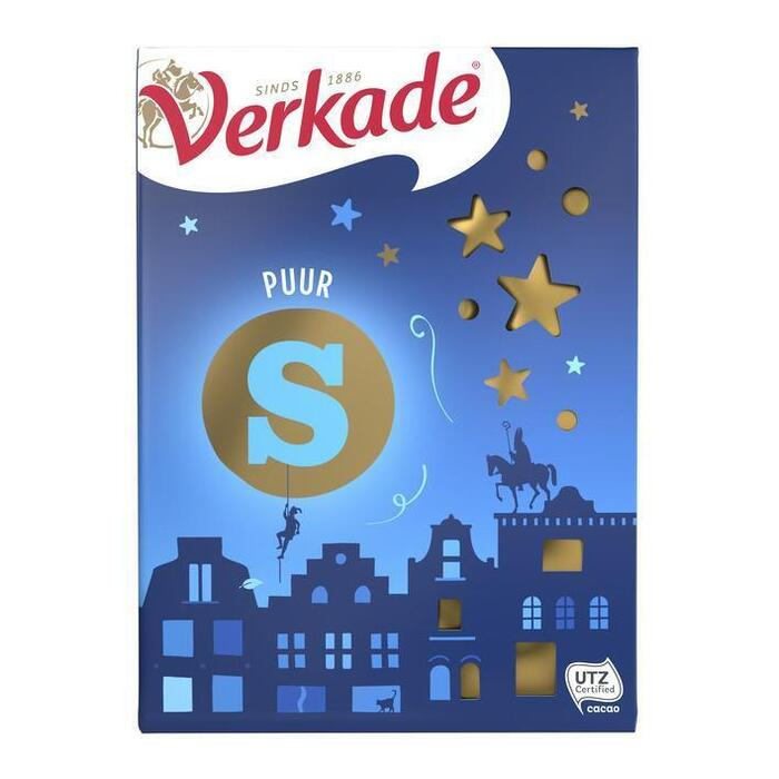 Chocoladeletter Puur (r, 135 × 135g)