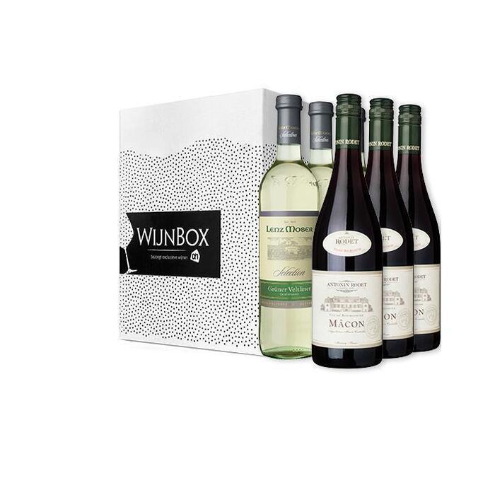 De probeer eens iets anders wijnbox (6 × 0.75L)
