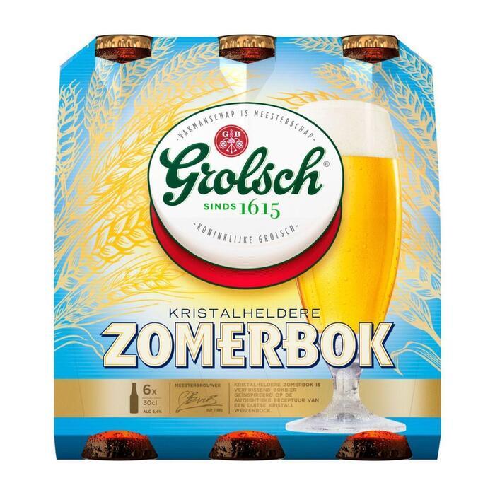 Grolsch Zomerbok (rol, 6 × 1.8L)