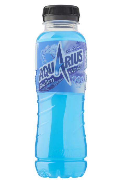 Aquarius Blue Berry PET 0.33L 1x (33cl)