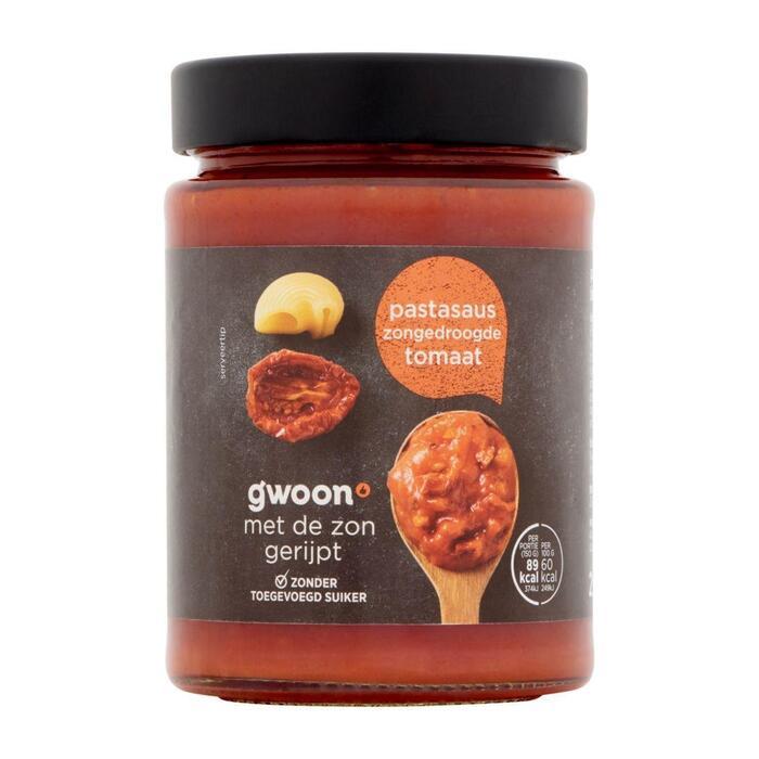 g'woon Pastasaus zongedroogde tomaat (295g)