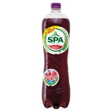 Spa Fruit raspberry redcurrant koolzuurhoude (1.25L)