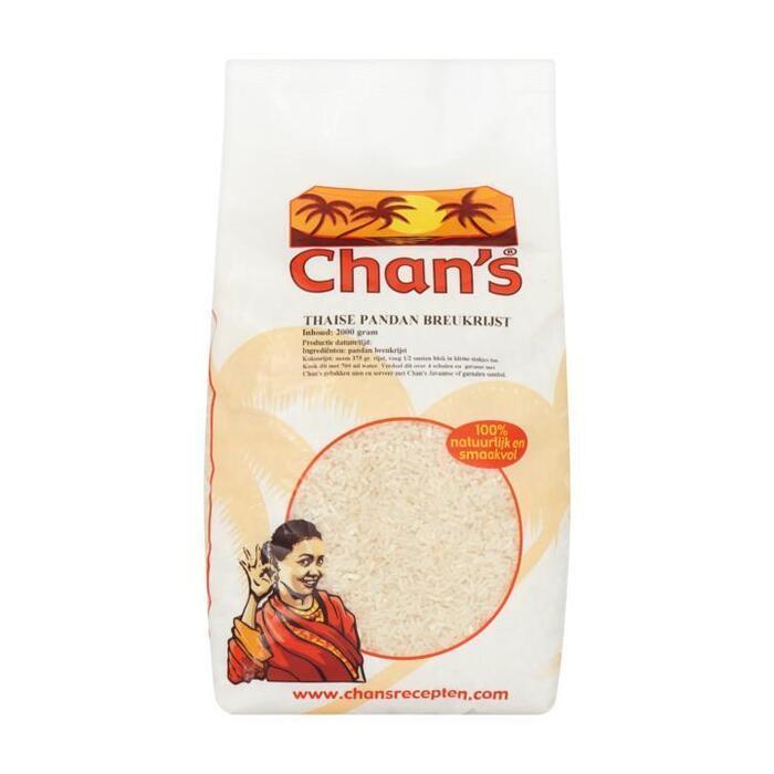 Chan's Thaise pandan breukrijst (2kg)