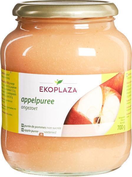 Appelpuree ongezoet (pot, 700g)