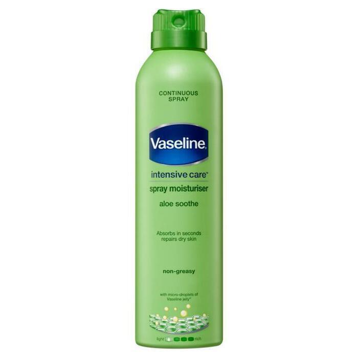 Vaseline Bodylotion spray aloe soothe (190ml)