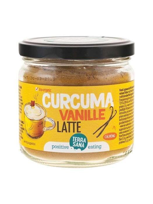 Curcuma Vanilla Latte TerraSana 150g (150g)