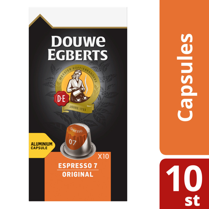 Capsules espresso 7 original (10 × 5.2g)