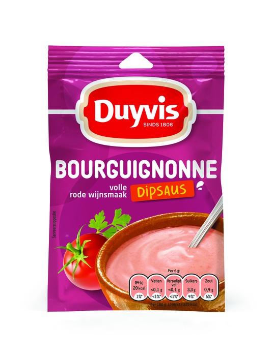 Duyvis Dipsausmix Bourguignonne Dipsaus Volle Rode Wijnsmaak 6g (6g)