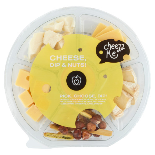 Cheese, Dip & Nuts! Cheeseplateau 195 g (195g)