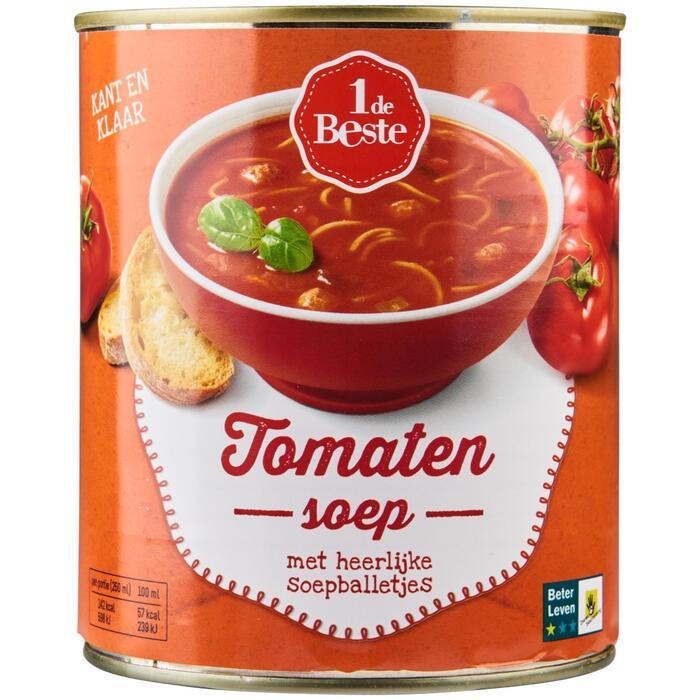 Tomatensoep (blik, 0.8L)