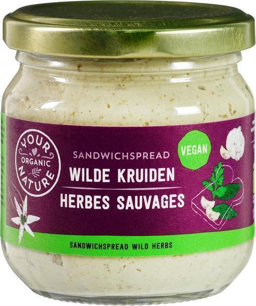 Sandwichspread wilde kruiden (180g)
