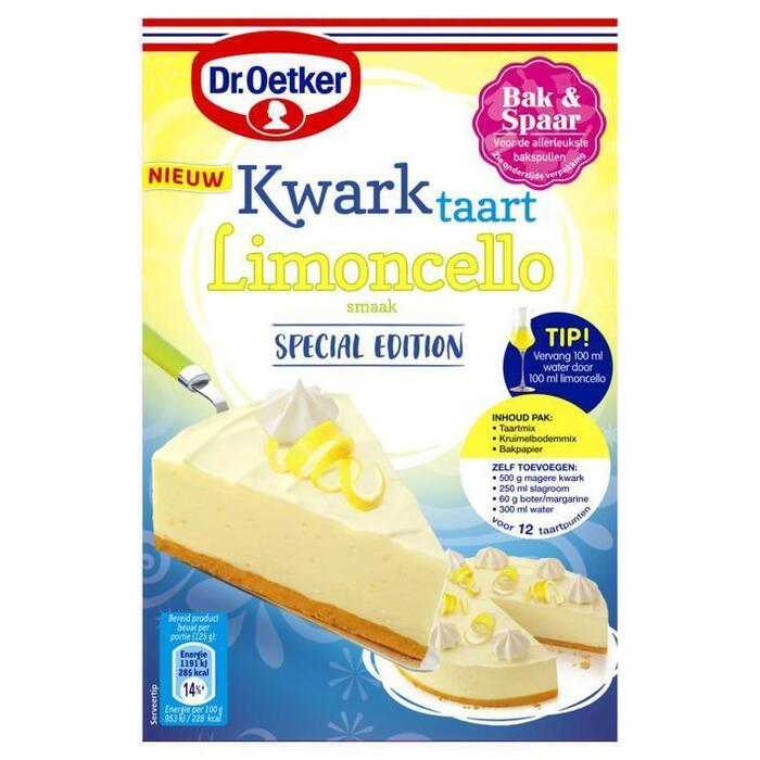 Dr. Oetker Kwarktaart limoncello (420g)