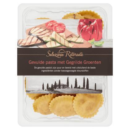 Selezione Ristorante Gevulde pasta met gegrilde groenten (blister, 250g)