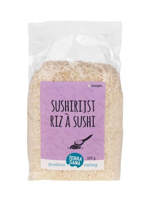 Witte sushi rijst TerraSana 500g (500g)