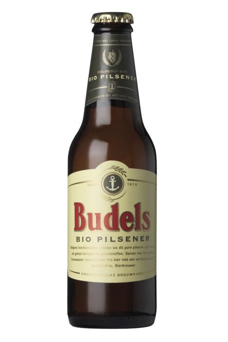 Budels Bio Pilsener (glazen fles, 30cl)