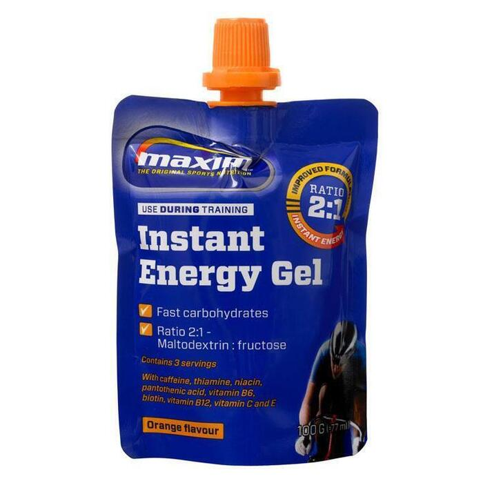 Instant energy gel orange (100g)