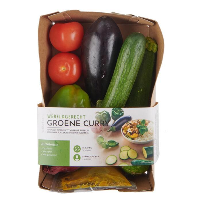 Fresh & Easy Verspakket Groene curry 1175 GRM VERPAKT (1.18kg)