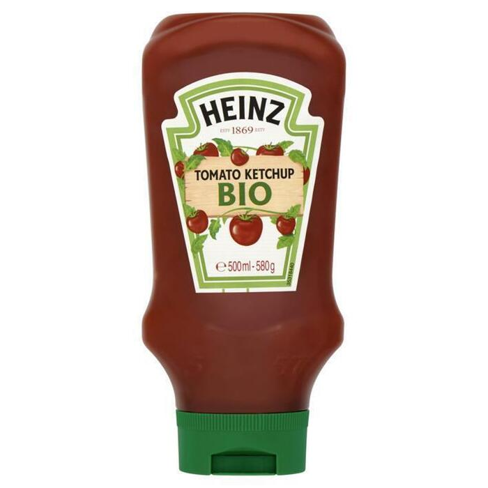 Tomato ketchup (bio) topdown (Stuk, 0.5L)