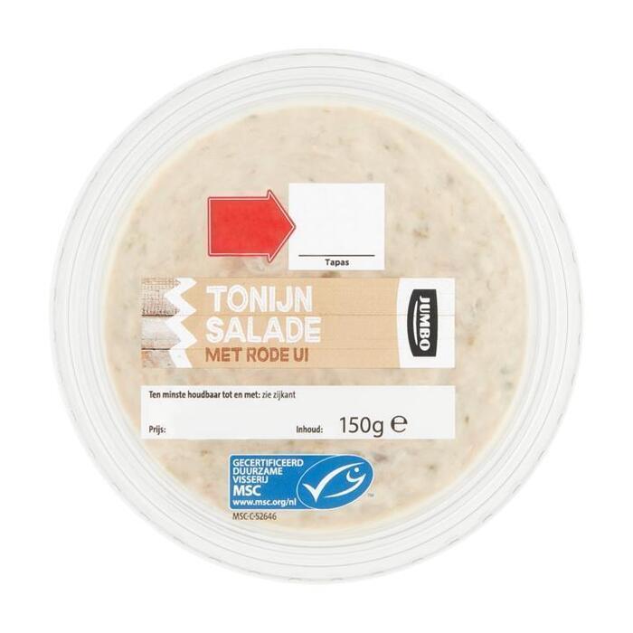 Jumbo Tonijnsalade met Rode Ui 150 g (150g)
