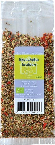 Bruschetta kruidenmengsel (20g)