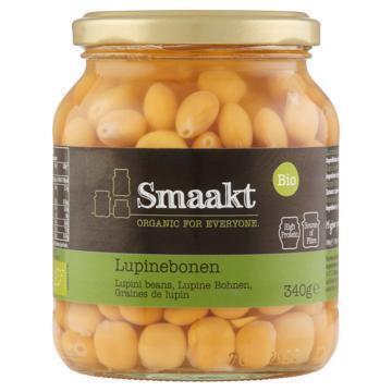 Smaakt Lupinebonen bio (340g)