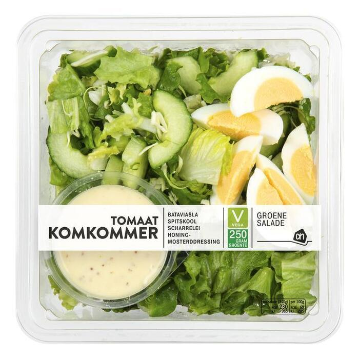 Salade met tomaat en komkommer (bak, 340g)