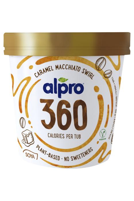Alpro Caramel Macchiato Swirl 450 ml (45cl)