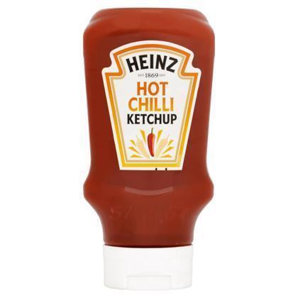 Hot Chilli Ketchup (plastic fles, 460g)