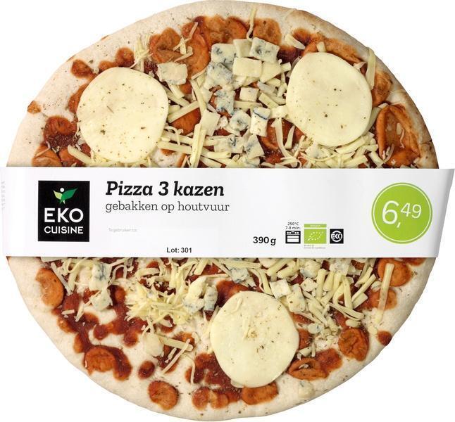 Pizza 3 kazen (390g)