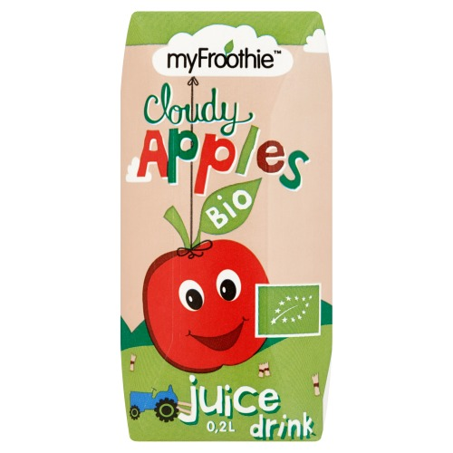 MyFroothie Cloudy Apples Bio Juice 0,2 L drink (33cl)