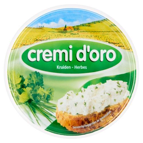 Cremi d'oro Roomkaas kruiden (kuipje, 150g)