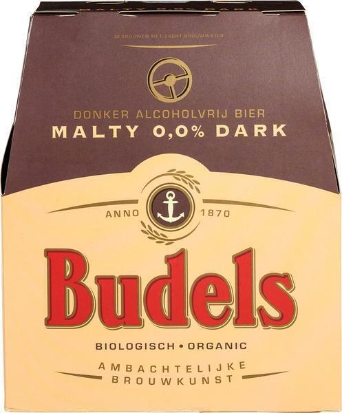 Budels Malty Dark 0,0% 6x30cl. (33cl)